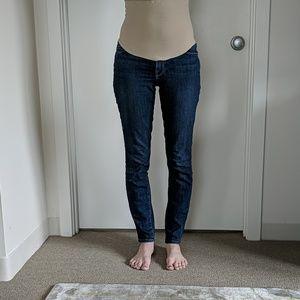 Frame skinny maternity jeans
